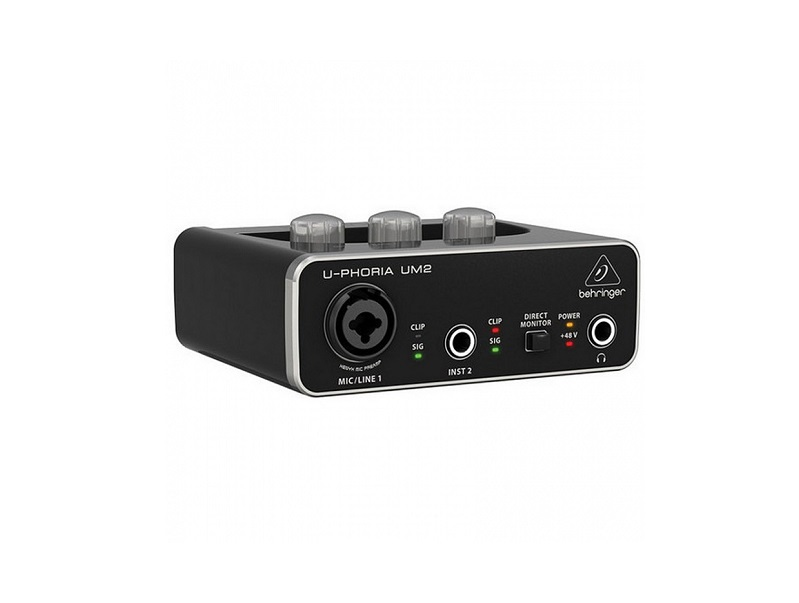 Interfejsy audio Behringer